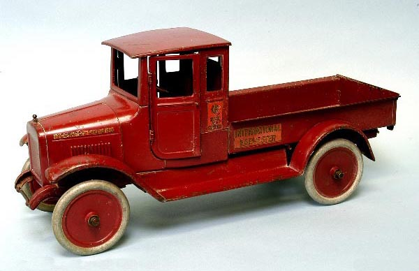 Old matchbox cars, antique delivery truck - Things Found by Metal