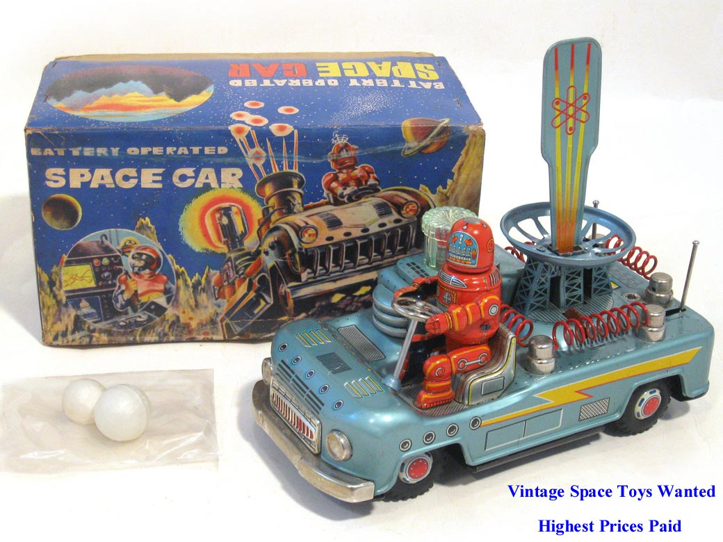 Vintage Space Toys : Rare antique buddy l trucks for sale