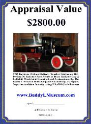 Antique buddy l trucks identification guide Free toy appraisals Free Appraisals Know the facts before selling your toys Buddy L Toy Museum paying 60% - 90% more than eBay & toy shows Buddy L, Steelcraft, Vintage Space Toys
