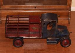 www.buddylmuseum.com, rare buddy l toys for sale, buying american national stake trucks, richfield oil truck, richfield, buddy l toys for sale free appraisals, american national toy trucks,american national coal truck,american national stake truck,american national circus truck,american national packard automobile,american national tank truck,american national dump truck,american national moving van,buddy l toys