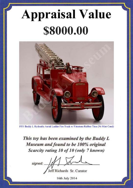 www.buddylmuseum.com, buddy l water tower fire truck for sale, Buying antique buddy l fire trucks free appraisals, buddy l fire truck,buddy l aerial ladder fire truck,buddy water tower fire truck,antique buddy l fire truck,sturditoy fire truck,steelcraft fire truck,toy appraisals,vintage space toys,keystone fire truck,antique toy fire trucks, steelcraft fire trucks wanted