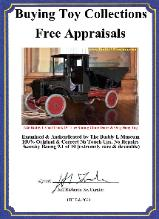 Buddy L Coal Truck Information and Photos Contact The Buddy L Museum with your Buddy L Coal Truck For Sale Free Buddy L Toy Appraisals